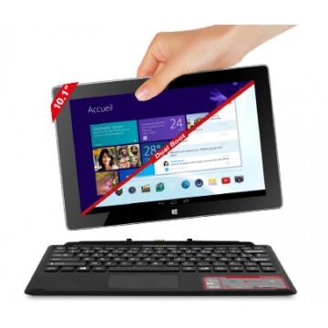 Thomson THBK1-10.64DB 64Go Noir, Argent tablette