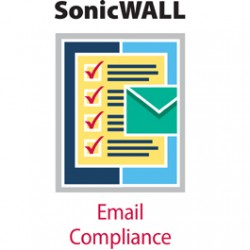 DELL SonicWALL Email Compliance Subscription - 500 Users 1 S