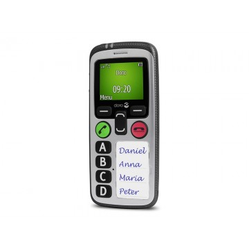 Doro Secure 580IUP 100g Argent