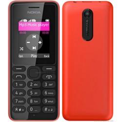 """Nokia 108 1.8"""" 70.2g Rouge"""