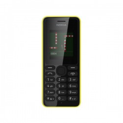 "Nokia 108 Dual SIM 1.8"" 69.9g Noir, Jaune"