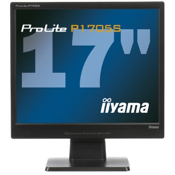 "iiyama ProLite P1705S-B1 TN+Film 17"" Noir écran plat de PC"