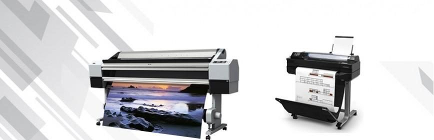 Imprimantes grand format, traceurs